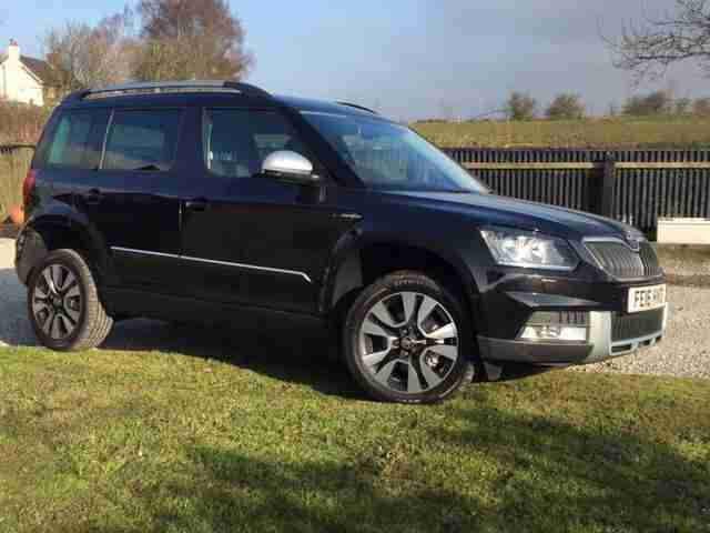 BRAND NEW SKODA YETI OUTDOOR L+K TDI CR 150