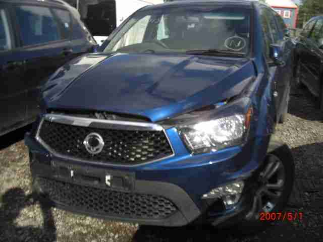 BREAKING 2014 SSANGYONG KORANDO SPORTS EX BLUE manual most parts available