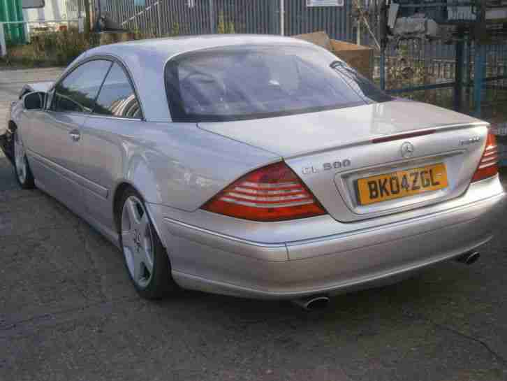 Breaking mercedes w215 cl500 cl600 1999 to 2006 parting out for 1999 mercedes benz cl500 for sale