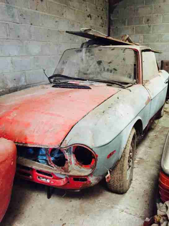 Barn find fulvia