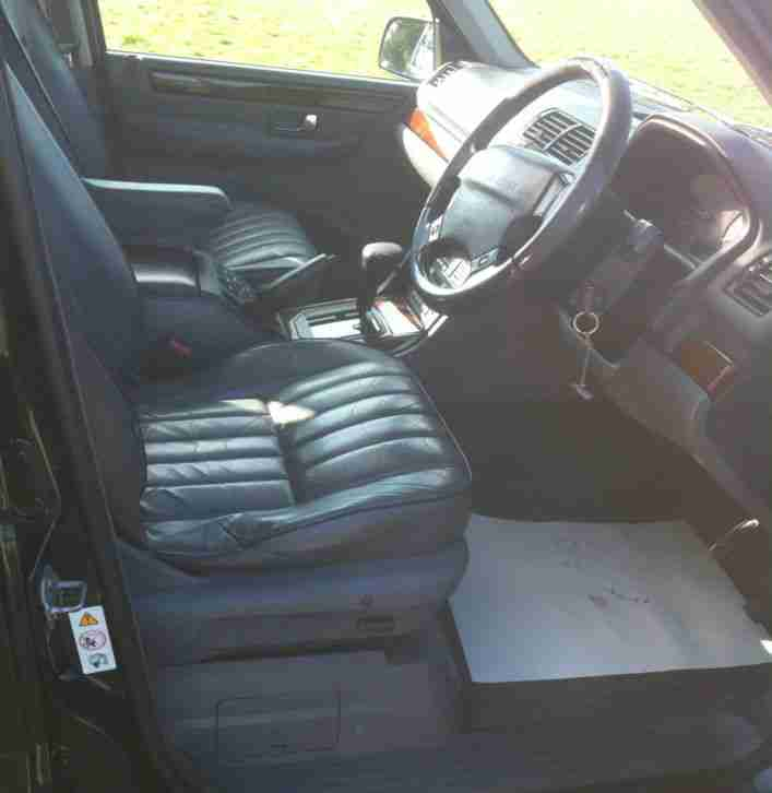 1998 Land Rover Rangerover 2 5 Dse Blue Car For Sale: Beautiful Range Rover P38 2.5DSE Very Low Miles 118K