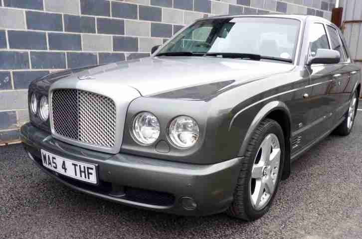 Bentley Arnage 6.8 T Mulliner finished in Cypress - Absolute Stunning