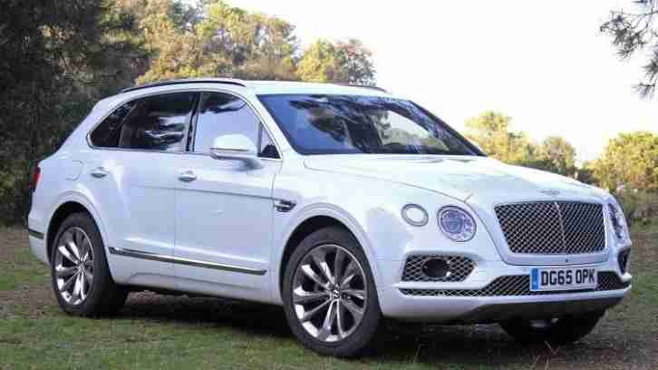 Bentley Bentayge PETROL MANUAL 2016/16