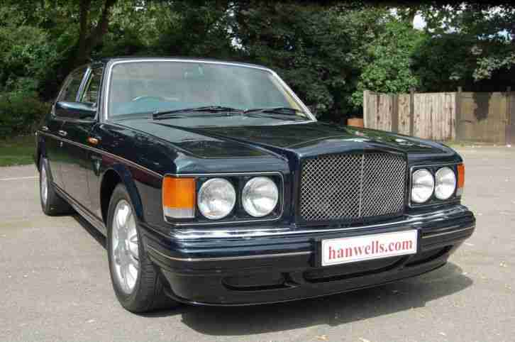Bentley Brooklands R Mulliner in Black Emerald