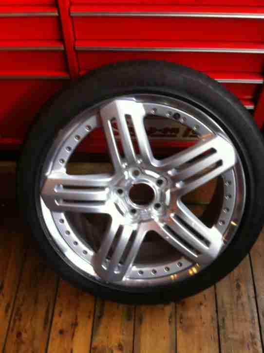 Bentley Brooklands coupe 20 inch 2 piece Ali front or rear spare wheel, perfect