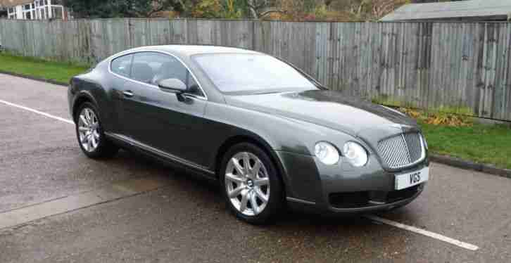 Bentley Continental 6.0. Bentley car from United Kingdom