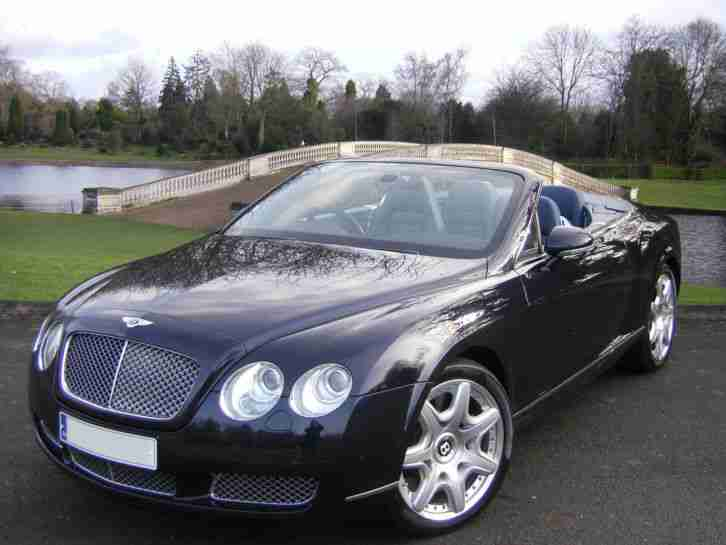 Continental 6.0 GTC 2dr Convertible,