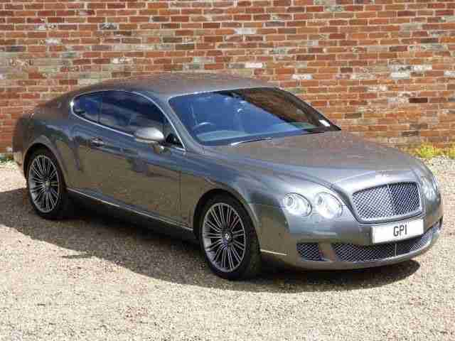 Bentley Continental 6.0 Speed GT 2dr SAT NAV - SOFT CLOSE DOORS PETROL 2008