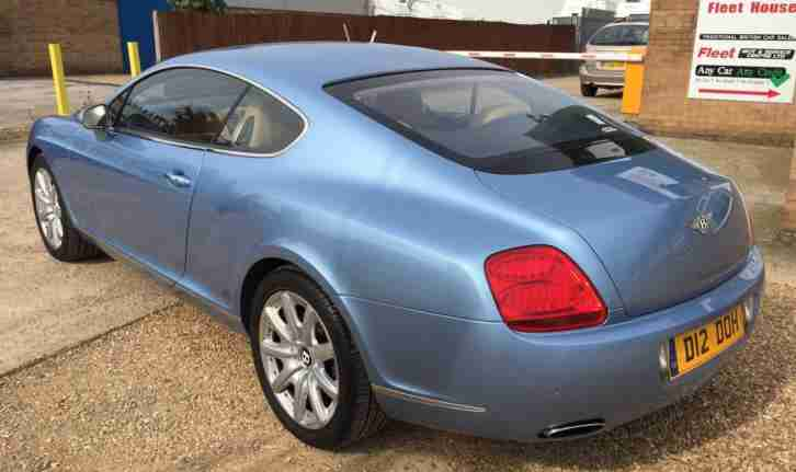 Bentley Continental 6.0 auto 2005 GT