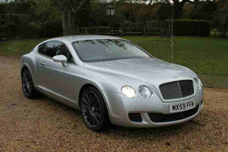 Bentley Continental 6.0 auto 2008 GT Speed