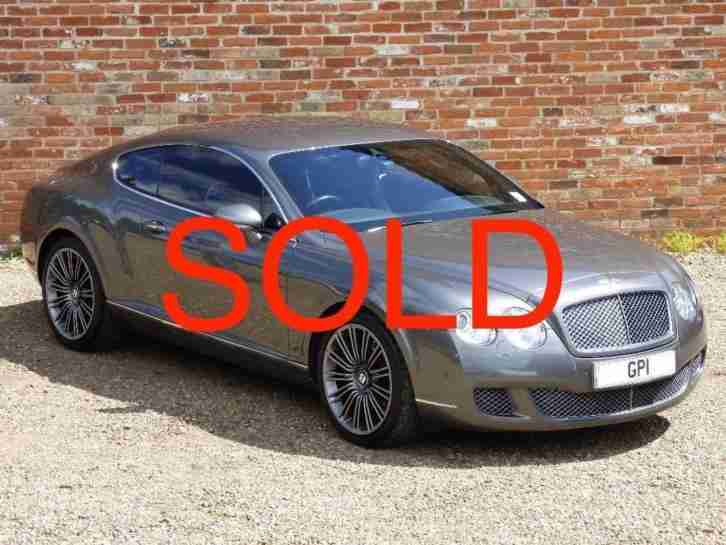 Bentley Continental GT 6.0 W12 GT Speed PETROL MANUAL 2008/08