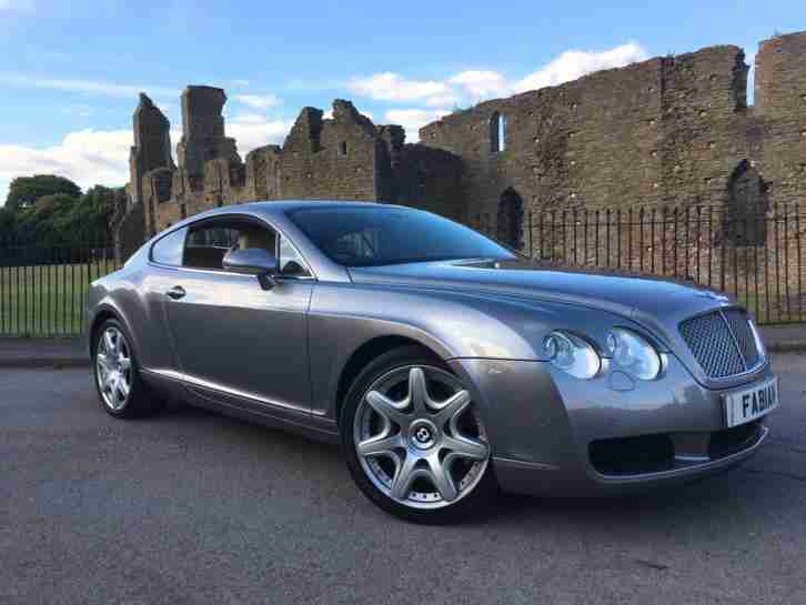 Continental GT Mulliner 6.0 auto Grey