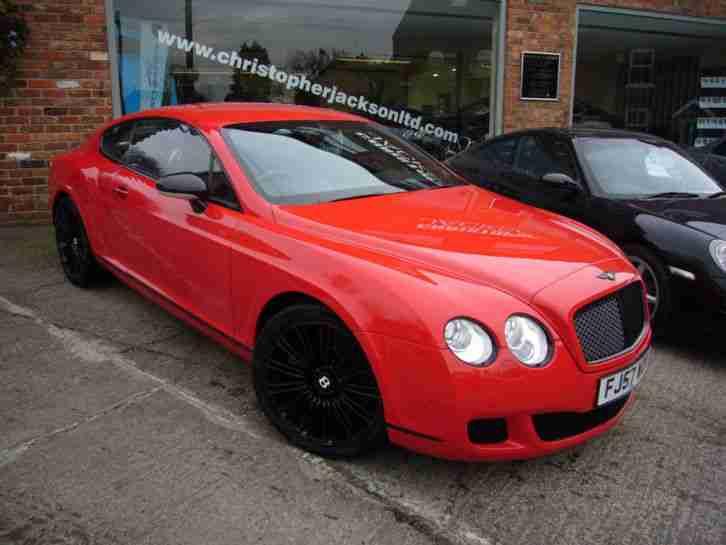 bentley continental gt speed 2008 57 st james red 36000 miles car for sale. Black Bedroom Furniture Sets. Home Design Ideas