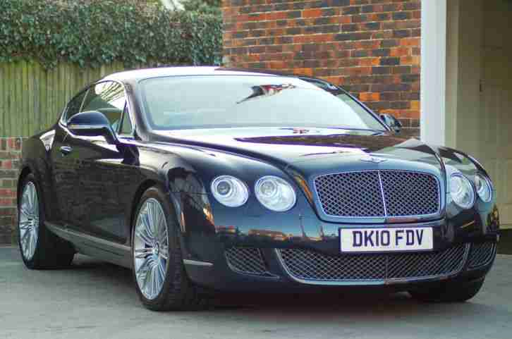 Bentley Continental GT Speed 2010