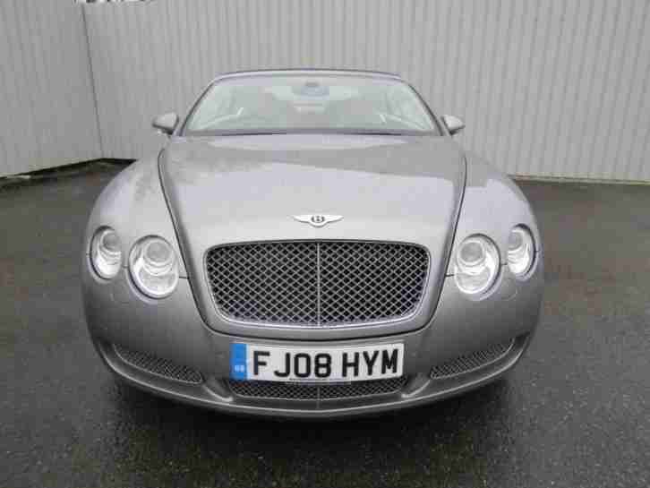 Bentley Continental GTC 6.0 W12 Convertible Auto FSH Silver