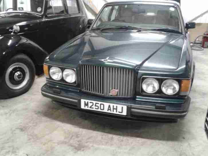 Bentley Turbo R 1994 M 55k Miles £2,480 Recently Spent 4 Door Saloon Green SZ V8