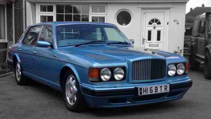 Bentley Turbo R Previously Owned By Who Wants To Be A