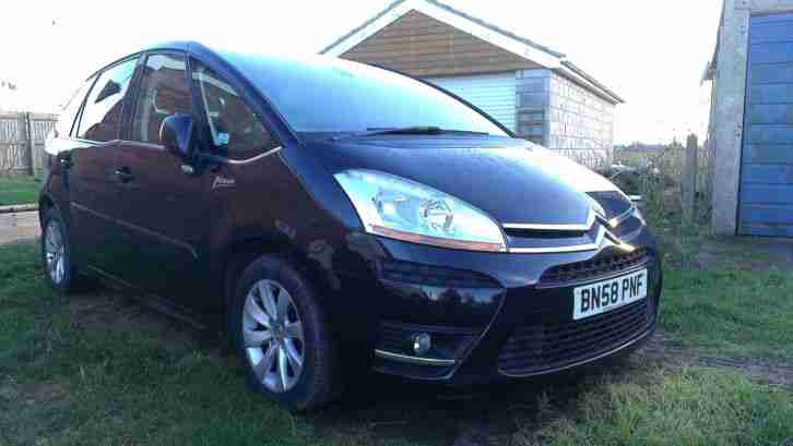 Black C4 Picasso Exclusive 1.6HDI