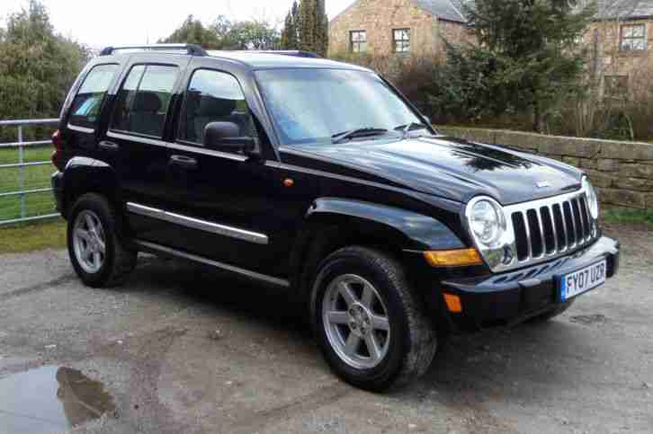 jeep black cherokee 2 8 crd auto limited 4x4 full leather 2007 station. Black Bedroom Furniture Sets. Home Design Ideas