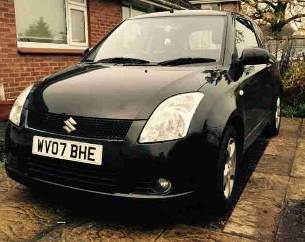 Black Swift 2007 low Mileage FSH,