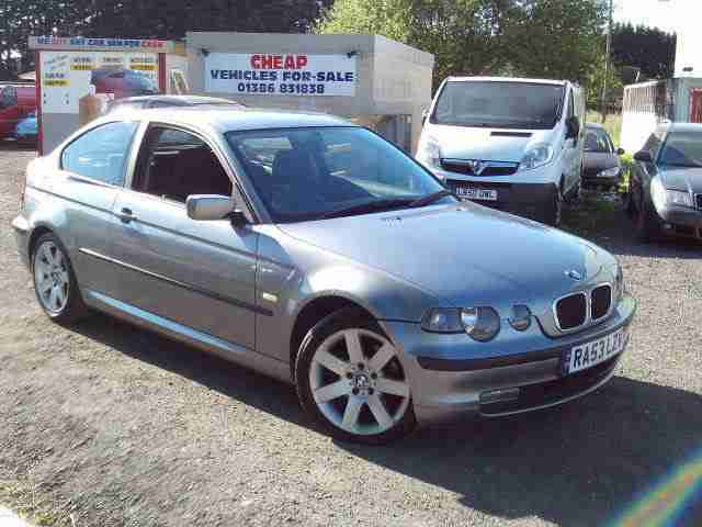 Bmw 320 TD Se Compact Diesel 6 Speed 2003 53 Reg Mot Cheap Bargain