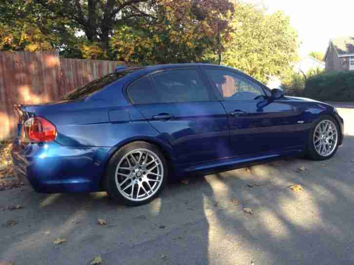 320D M Sport 56 plate blue 4 door saloon