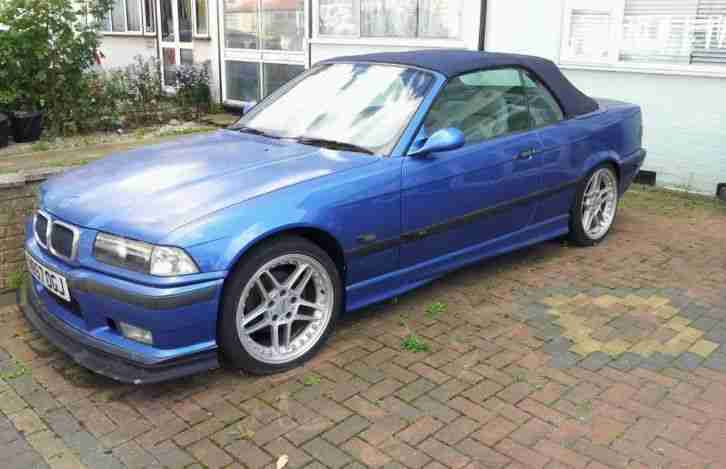 bmw e36 m3 convertible replica estoril blue acs wheels. Black Bedroom Furniture Sets. Home Design Ideas