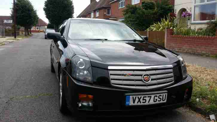 CADILLAC CTS-V model 2008 -375/bhp-SPORT **TOP SPEC EVER MADE**FULL MOT+FULL TAX