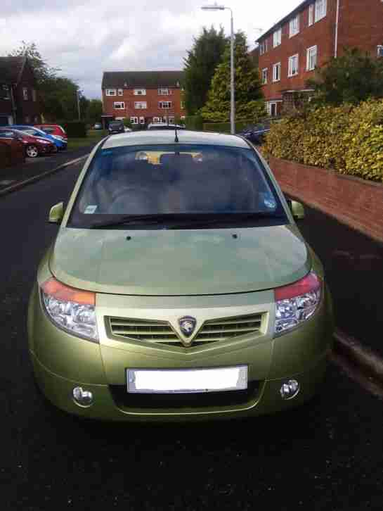 CAR 2007 PROTON SAVVY STYLE, Green, Petrol 1149cc and 27,000 MILES