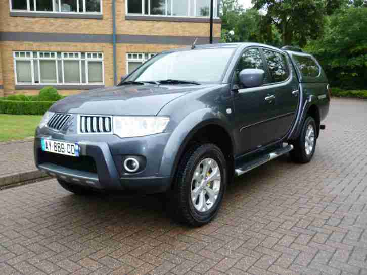 CAR SOLD NOW 2010 Mitsubishi L200 Double cab 2.5 Left hand drive lhd French