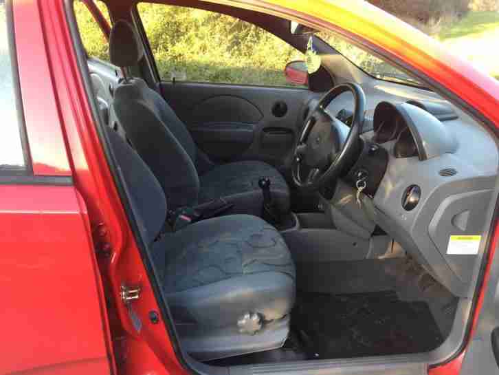 CHEAP 62k MILE 1.2 DAEWOO KALOS 5 DOOR - 8 MAIN DEALER SERVICES & LONG MOT