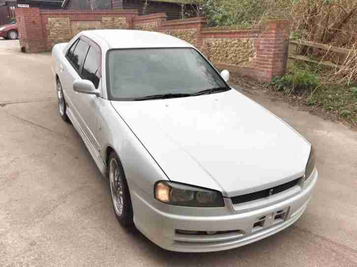 CHEAP IMPORT JDM NISSAN SKYLINE R34 TURBO RB25DET 5 SPEED - IMMACULATE CONDITION