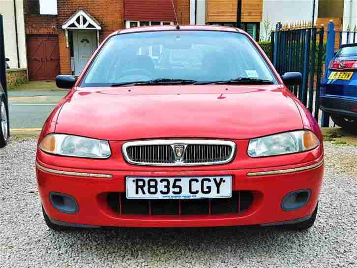 CHEAP Rover 200 1.4 Manual 5 Door Low Cost Car alike vauxhall corsa