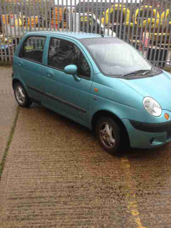 CHEVROLET MATIZ SE. Daewoo car from United Kingdom