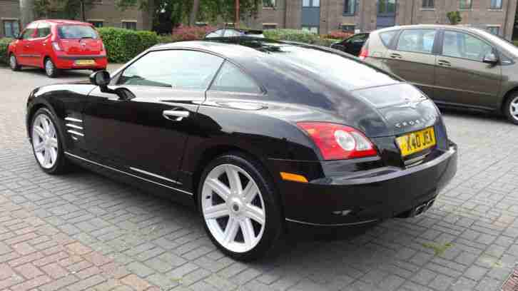 CHRYSLER CROSSFIRE 3.2 V6 AUTO BLACK 2003 - NEW MOT & BATTERY COLD AIR-CON - SLK