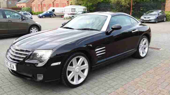 chrysler crossfire 3 2 v6 auto black 2003 new mot battery cold air. Black Bedroom Furniture Sets. Home Design Ideas