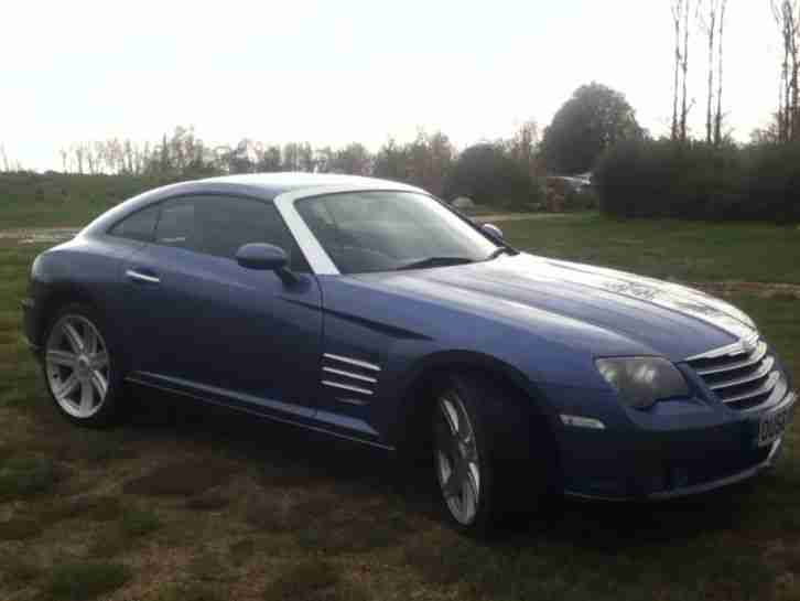 Chrysler CROSSFIRE AUTO. Chrysler car from United Kingdom