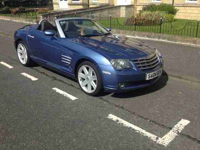 Chrysler CROSSFIRE CONVERTIBLE. Chrysler car from United Kingdom