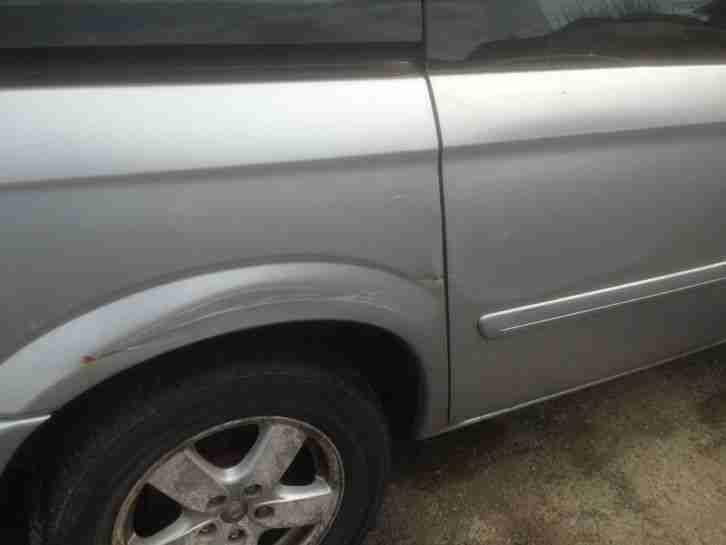 CHRYSLER GR- VOYAGER EXEC CRD 2007 SPARES OR REPAIR