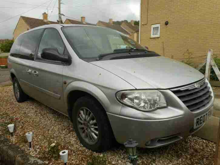 CHRYSLER GRAND VOYAGER 2.8 CRD SIGNATURE AUTO STOW & GO 7 SEATER NO RESERVE MPV