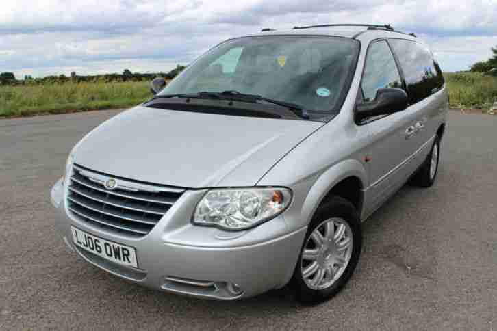 chrysler grand voyager 2006 2 8 crd limited auto diesel stow n go. Black Bedroom Furniture Sets. Home Design Ideas