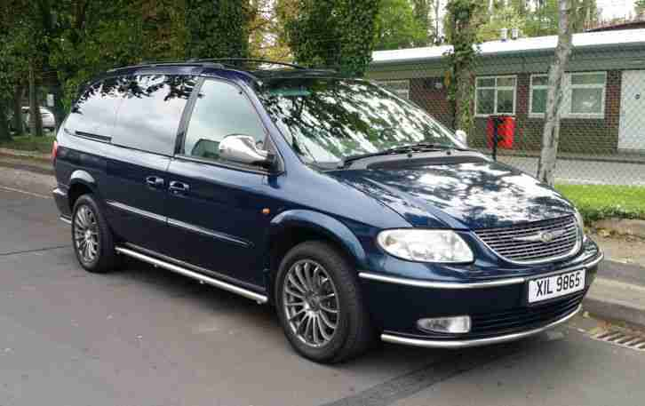 CHRYSLER GRAND VOYAGER CRD LX 2.5 td 5 speed manual