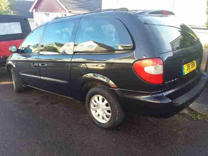 CHRYSLER GRAND VOYAGER CRD LX PX VIA EBAY LOW MILEAGE