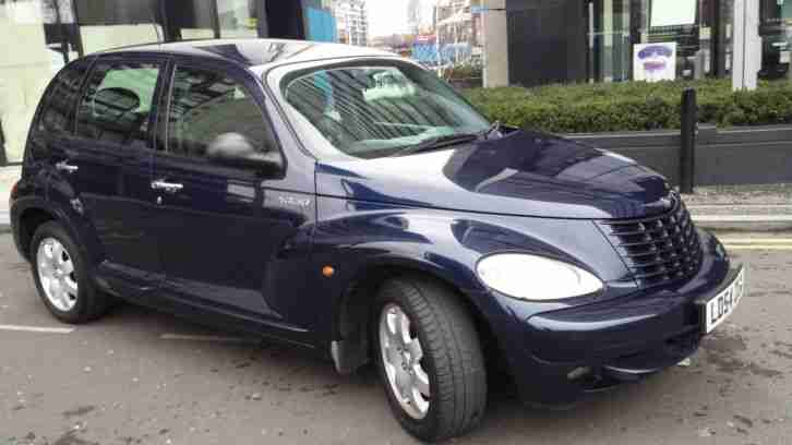 CHRYSLER LOW MILES 2004 PT CRUISER TOURING SALOON