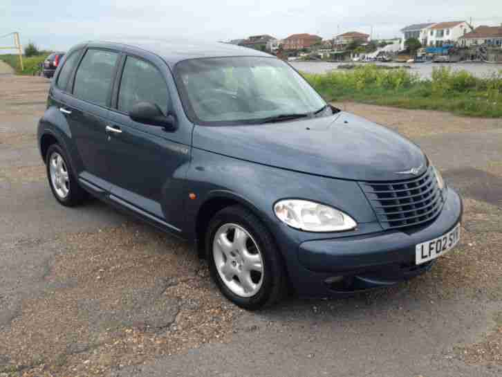 CHRYSLER PT CRUISER 2.0 TOURING 5 speed 2002(02Reg) only 78,000 miles