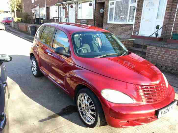 chrysler pt cruiser 2 2 crd classic 2004 extra kit of alloy wheels. Black Bedroom Furniture Sets. Home Design Ideas