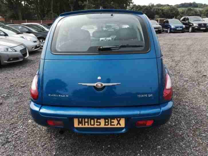 CHRYSLER PT CRUISER 2005 TOURING L AUTO BLUE 1year MOT