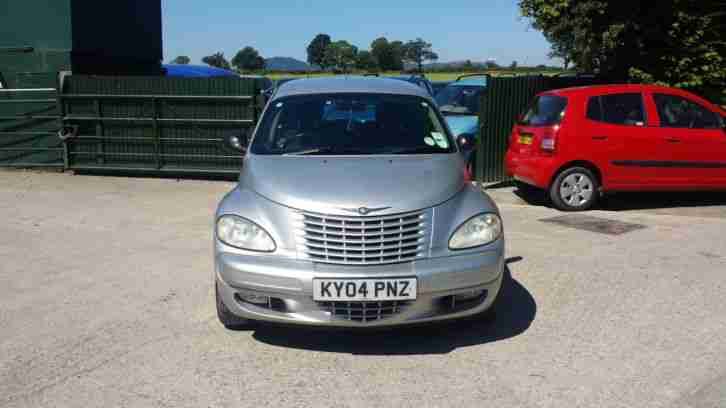 CHRYSLER PT CRUISER TOURING CRD 2.2 DIESEL SILVER 04 REG FULL MOT CHEAP CAR