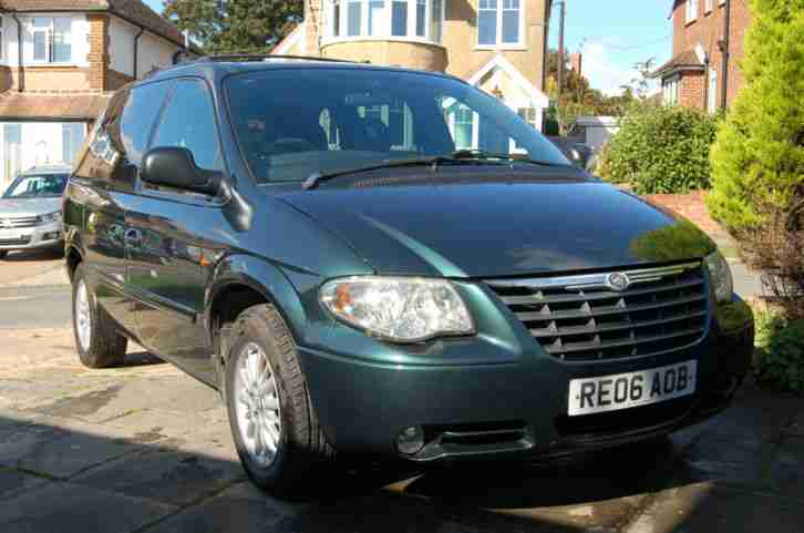 CHRYSLER VOYAGER 2.8LX CRD 2006 AUTOMATIC 7 SEAT DIESEL, CRUISE CONTROL, CD
