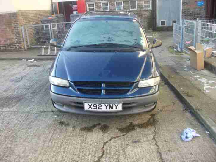 CHRYSLER VOYAGER DIESEL 85,000 MILES 7 SEATER SPARES OR REPAIR EXPORT NO RESERVE